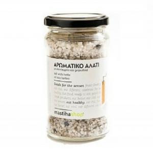 """Αλάτι Αρωματικό με Σχινόκαρπο """"Mastiha Shop"""" 300gr"""