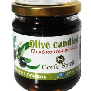Γλυκό του κουταλιού Ελιά 'CORFU SPIRIT' 250gr