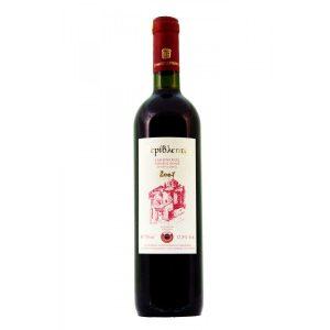 Organic Regional Wine 'PERIVLEPTOS RED' 2013 'ESTATE THEODORAKAKOS' 750ml
