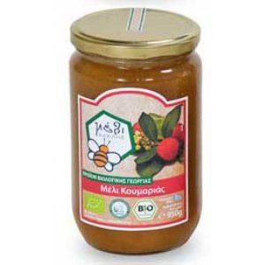 βιολογικό μέλι κουμαρι organic Arbutus Honey
