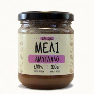 Άλειμμα με μέλι και Αμύγδαλα 'Γαϊδαράκος' 220gr