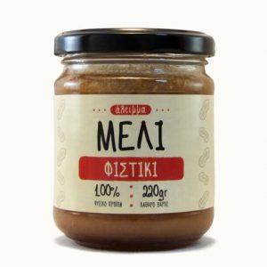 Άλειμμα με μέλι και Φιστίκι 'Γαϊδαράκος' 220gr