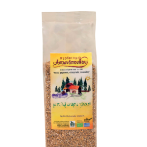 Βιολογικό Πλιγούρι Ζέας 'ΑΓΡΟΚΤΗΜΑ ΑΝΤΩΝΟΠΟΥΛΟΥ' 250grOrganic Bulgur Zea Wheat ANTONOPOULOS FARM 400gr