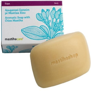 Sented Soap with Mastiha Oil 'Mastiha Shop' 90grΑρωματικό Σαπούνι με Μαστίχα 'MastihaShop' 90 gr