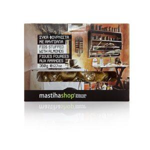 Σύκα Φουρνιστά με Αμύγδαλα 'MastihaShop' 360 gr