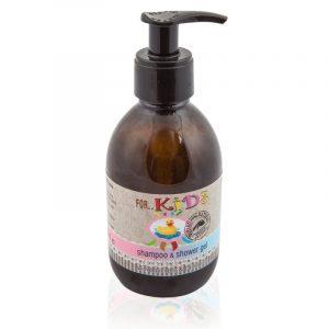 Φυσικό Σαμπουάν & Αφρόλουτρο για Παιδιά με Λεβάντα & Καλέντουλα 'BioAroma' 250ml Natural Shampoo & Shower Gel for Kids 'Bio Aroma' 250ml