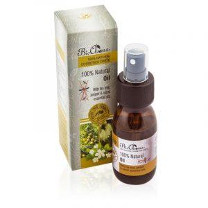 100% Natural Mosquito Repellent Oil (Travel Size) 'Bio Aroma' 50ml