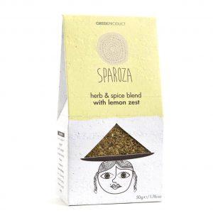 Herb & Spice Blend w Lemon Zest 'SPAROZA' 50gr