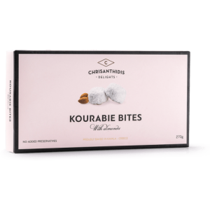 Kourabie Bites Nea Karvali w Almonds 'CHRISANTHIDIS' 270gr