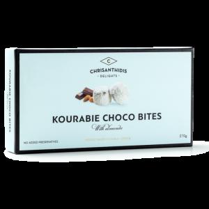 Kourabie Bites Nea Karvali w Almonds and Chocolate 'CHRISANTHIDIS' 270gr