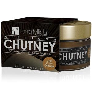Chutney Μανιτάρι Πλευρώτους Τσίλι Κάρυ 'TERRA FYLLIDA' 160gr