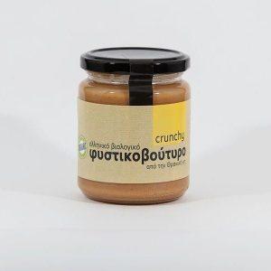 Βιολογικό Φυστικοβούτυρο Crunchy 'Το Δισάκι' 250gr