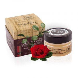 24ωρη Κρέμα Προσώπου Λιπαρά -Κανονικά Δέρματα 'BioAroma' 40ml 24hr Face Cream Oily-Normal Skin 'BioAroma' 40ml 24hr Face Cream Oily-Normal Skin 'BioAroma' 40ml