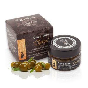 """Αντιγηραντική Μάσκα Προσώπου """"Olivetree Caviar"""" 'BioAroma' 65ml"""