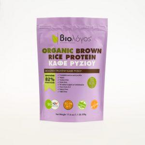 Βιολογική Πρωτεΐνη Ρυζιού 'Βιολόγος' 500grOrganic Rice Protein 'Biologos' 500g