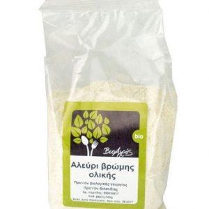 Oat Wholemeal Flour 'Bioagros' 500gr Αλεύρι Βρώμης Ολικής 'Βιοαγρός' 500gr