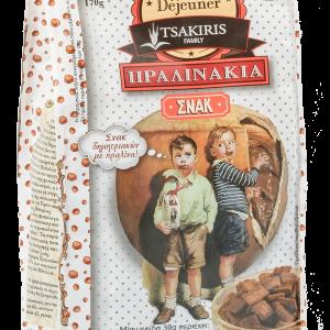 Chocolate Cereals 'Pralinakia' Tsakiris Family 170grΔημητριακά Σοκολάτας 'Πραλινάκια' Tsakiris Family 170grChocolate Cereals 'Pralinakia' Tsakiris Family 170gr