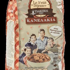 Δημητριακά Κανέλας 'Κανελάκια' Tsakiris Family 170gr