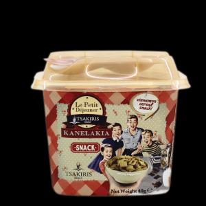 Σνακ Δημητριακών Κανέλας 'Κανελάκια' Tsakiris Family 40gr