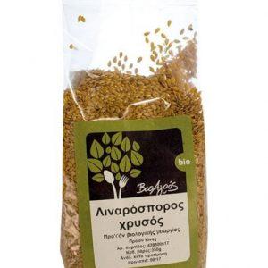 Organic Golden Flaxseed 'Bioagros' 350grΒιολογικός Χρυσός Λιναρόσπορος 'Βιοαγρός' 350gr