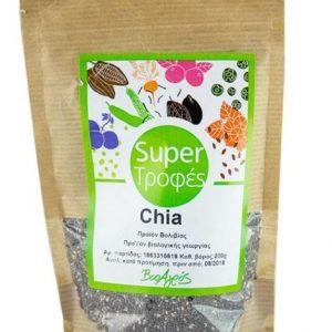 Organic Chia Seeds 'Bioagros' 200grΒιολογικοί Σπόροι Chia 'Βιοαγρός' 200gr