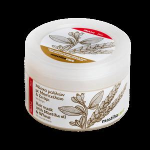 Hair Mask w Mastiha Oil & Wheat 'Mastiha Shop' 250mlΜάσκα Μαλλιών Μαστίχα & Σιτάρι 'MastihaShop' 250ml