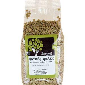 Βιολογικές Φακές Ψιλές 'Βιοαγρός' 500grOrganic Green Small Lentils 'Bioagros' 500gr