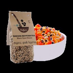 Organic Black Eyed Beans 'Bioagros' 500grβιολογικά φασόλια μαυρομάτικα