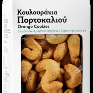 Βιολογικά Κουλουράκια Πορτοκαλιού 'Ντουρουντούς' 200gr