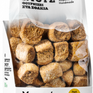 Organic Barley Bites 'Ntourountous' 180grΒιολογική Μπουκιά Κρίθινη 'Ντουρουντούς' 180gr