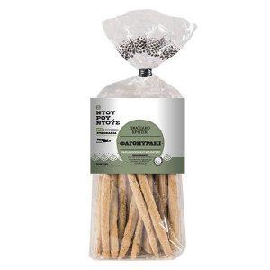 'Φαγοπυράκι' Βιολογικό Σφακιανό Κριτσίνι 'Ντουρουντούς' 150gr