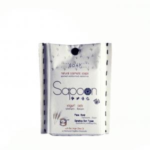 Σαπούνι με Γιαούρτι, Βρώμη & Βιολογικό Ελαιόλαδο 'Sapoon' 110gr