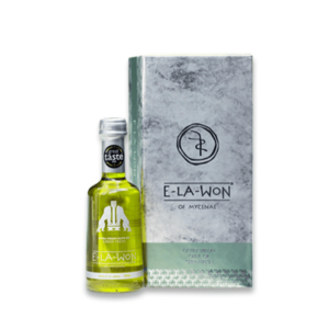 Extra Virgin Green Olive Oil E-LA-WON Green Fresh in Luxury Box 250ml
