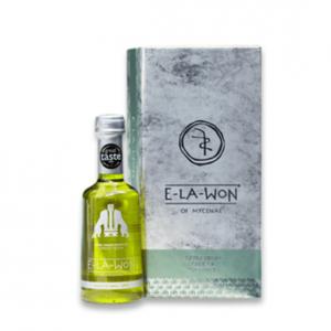 Extra Virgin Green Olive Oil E-LA-WON Green Fresh in Luxury Box 250ml