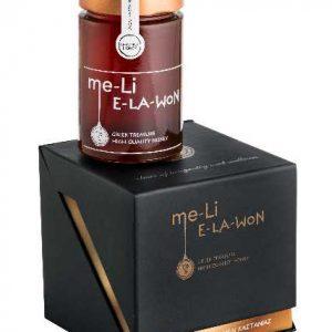 Μέλι me-Li Καστανιάς σε Πολυτελή Συσκευασία Δώρου 'E-la-won' 280ml