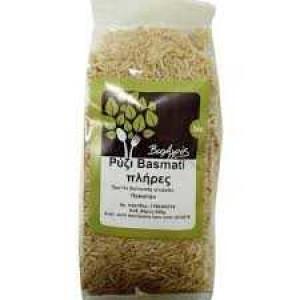 Βιολογικό Ρύζι Μπασμάτι Πλήρες 'Βιοαγρός' 500gr