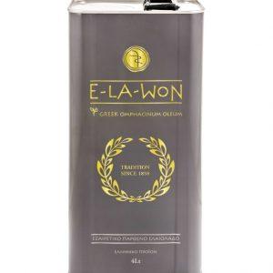 Extra Virgin Olive Oil Traditional 'E-la-won' 5lt