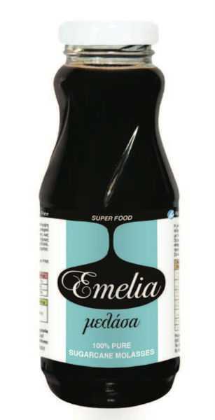 100% Καθαρή Μελάσα από Ζαχαροκάλαμο 'Emelia' 350gr