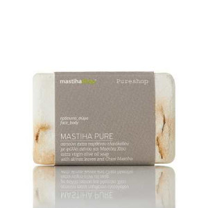 PURE Soap Olive Oil, Skinos Leaves & Chios Mastiha 'MastihaShop' 100gr