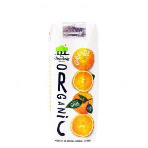 "Organic Orange Juice ""CHRIS FAMILY"" in a 250ml"