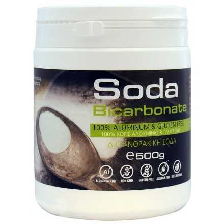Sodium bicarbonate Aluminium & Gluten Free 500grΒιολογική Σόδα Μαγειρικής χωρίς Αλουμίνιο 'OLA-BIO' 500gr
