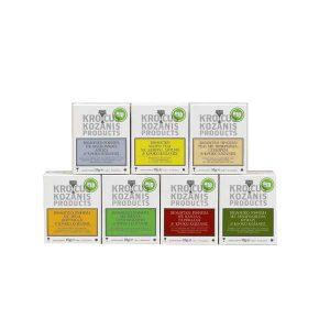 Επιλεγμένα Βιολογικά Ροφήματα με Κρόκο Κοζάνης Multipack 'Krocus Kozanis Products' 18gr