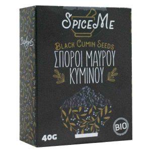 Organic Black Cumin Seeds 'Spice Me' 40gr