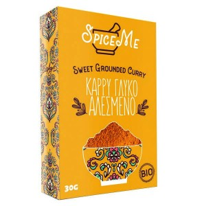 Organic Sweet Grounded Curry 'Spice Me' 30gr