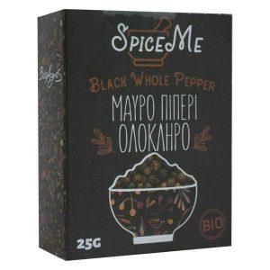 Βιολογικό Μαύρο Πιπέρι Ολόκληρο 'Spice Me' 25gr