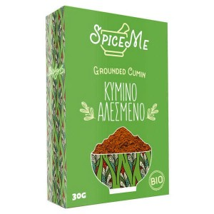 Organic Grounded Cumin 'Spice Me' 30gr