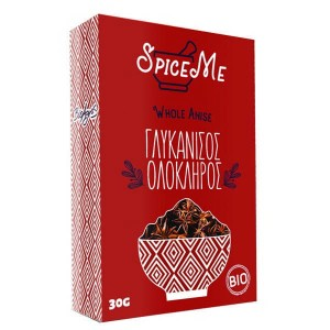 Organic Whole Anise 'Spice Me' 30gr