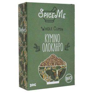 Organic Whole Cumin 'Spice Me' 30gr