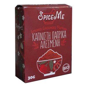 Βιολογική Πάπρικα Καπνιστή Σκόνη 'Spice Me' 30gr