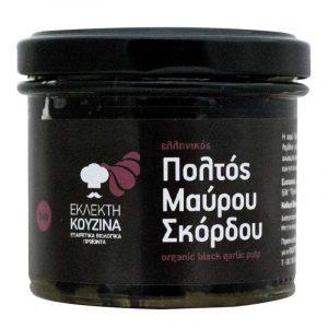 Βιολογικός Ελληνικός Πολτός Μαύρου Σκόρδου 'ΕΚΛΕΚΤΗ ΚΟΥΖΙΝΑ' 100gr